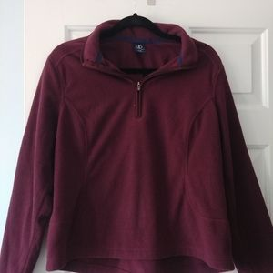 Land's End pullover fleece